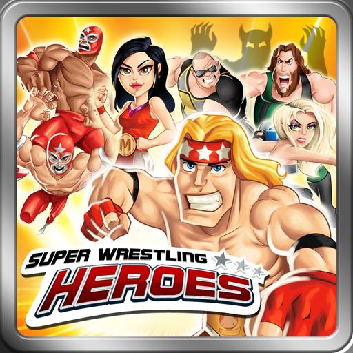 Super Wrestling Heroes Free 街機 App LOGO-APP開箱王