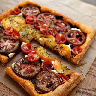 Heirloom Tomato Tart.