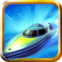 Turbo River Racing Free icon