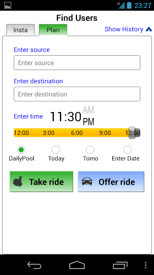 Carpool and RideShare - Hopin- screenshot