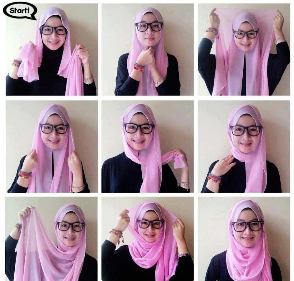 Tips Hijab Tips Tutorial Hijab Segi Empat Terbaru Info Makkah