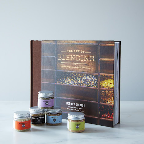 The Art of Blending Book + La Boîte Spice Blends Gift Set