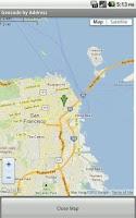 Screenshot of Geocode by Address