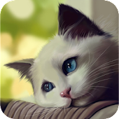 Cute Cat Cut Puzzle Game