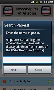 All Newspapers of Arizona-Free - screenshot thumbnail