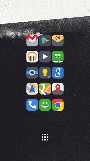 Flat iOS 7 Go Apex Nova Theme