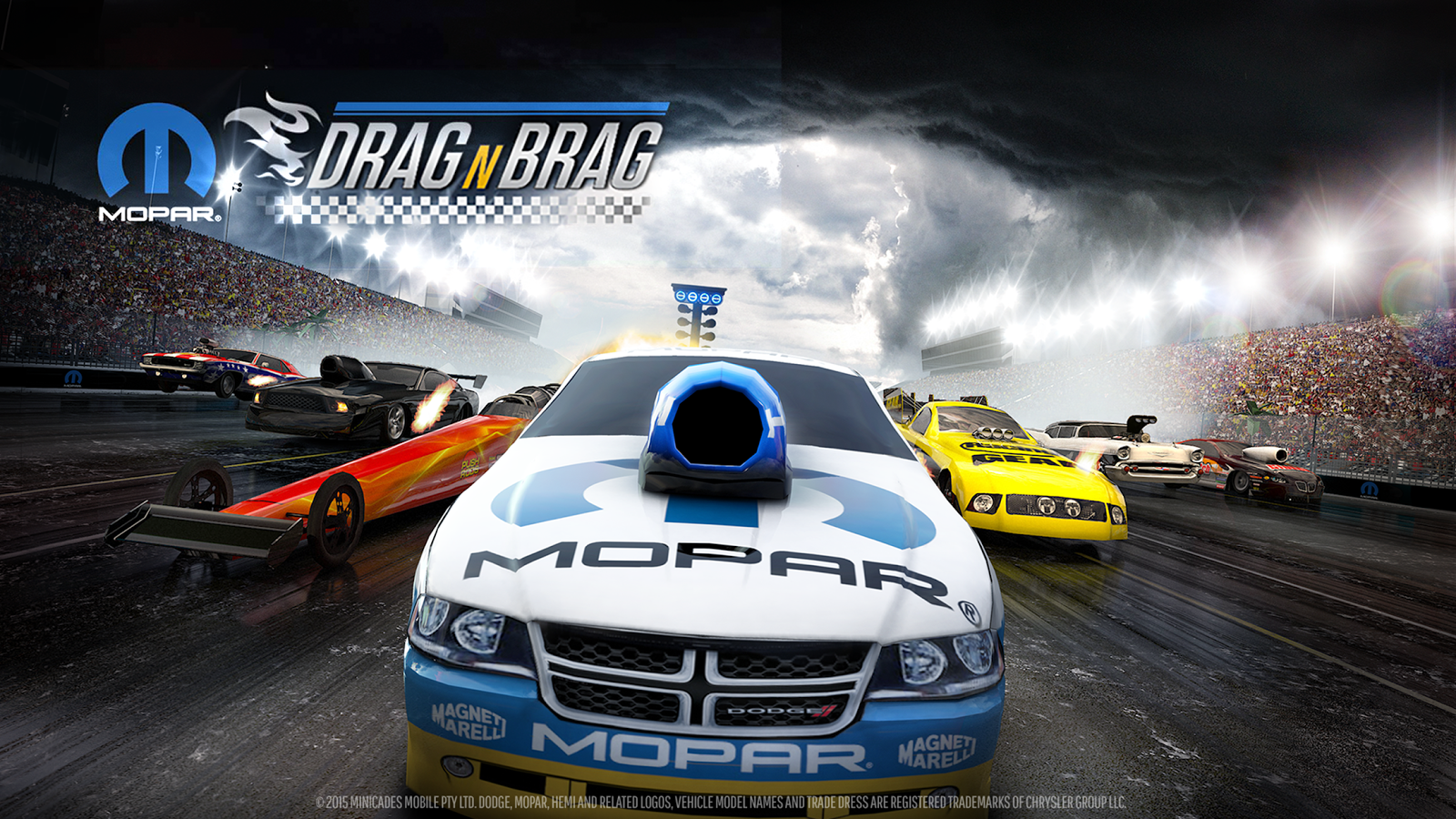 Mopar Drag N Brag- screenshot