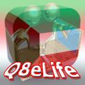 Q8eLife logo