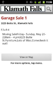 Klamath Falls Garage Sales screenshot 2