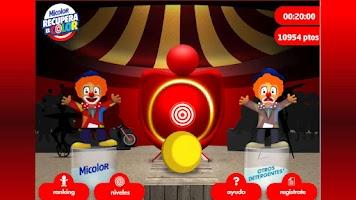 Screenshot of Micolor recupera el color