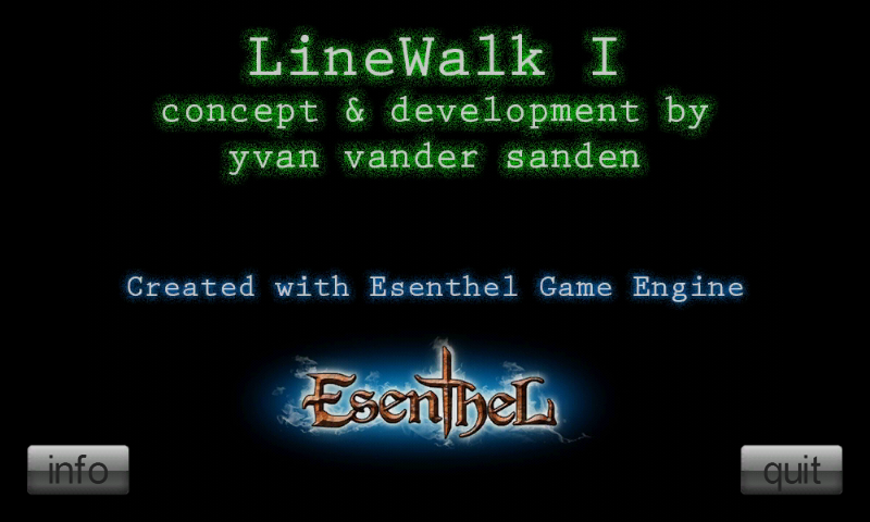 LineWalk I- screenshot