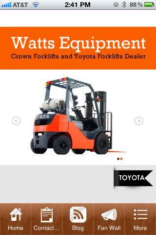 Watts Equipment Co. Inc.