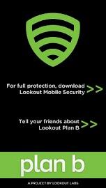 FREE Lost Phone Tracker -PlanB Screenshot 1