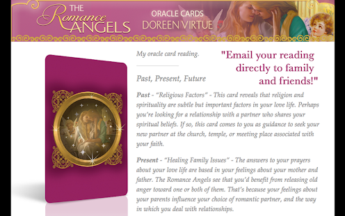 Romance Angels Oracle Cards - screenshot thumbnail