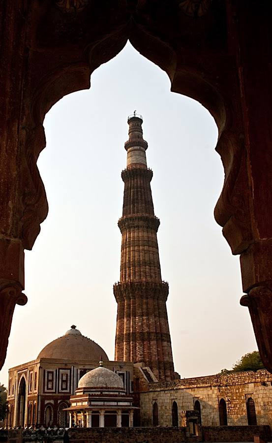 Qutab Minar by Shalabh Sharma - Buildings & Architecture Public & Historical