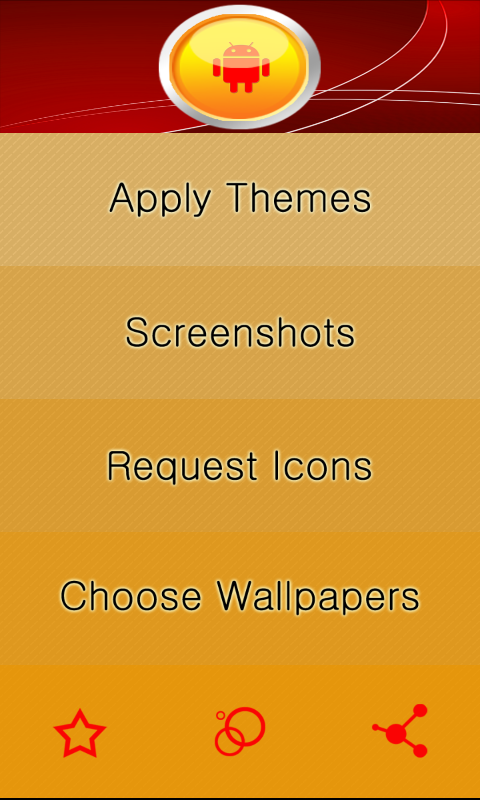 Yellow Circle Icon Pack- screenshot