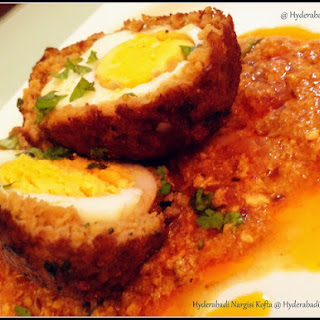 Hyderabadi Nargisi Kofta (scotch eggs )