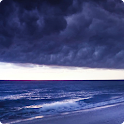Stormy Ocean Live Wallpaper HD icon