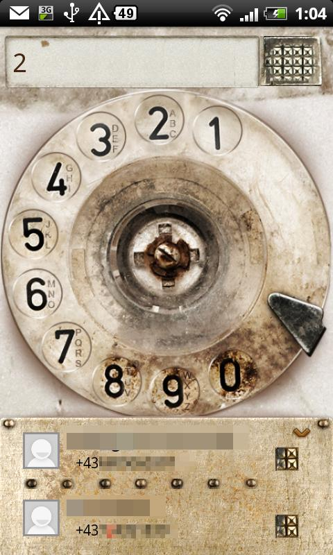 Cool Dialplate - Rotary Phone- screenshot