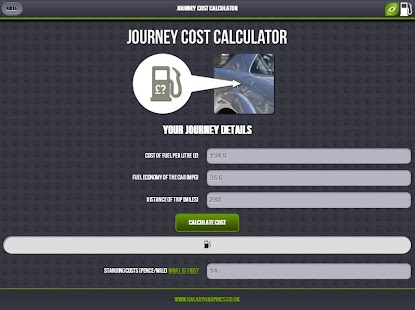 Journey Cost Calculator- screenshot thumbnail