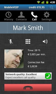 Frynga save on phone bills - screenshot thumbnail