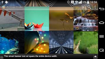 Screenshot of JS Image Finder: Image Search