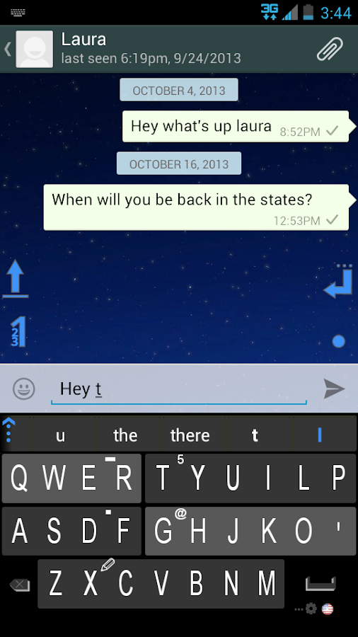 Q4 Keyboard - screenshot