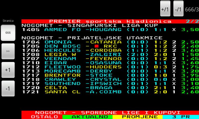 BHT1 Teletekst - screenshot
