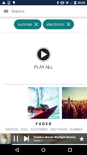 8tracks playlist radio - screenshot thumbnail