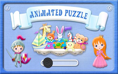 Toddler & Baby Animated Puzzle - screenshot thumbnail