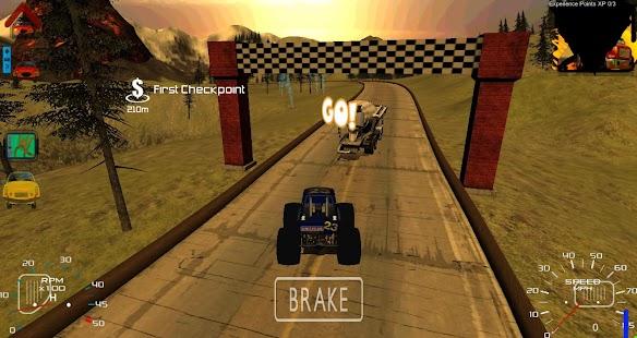 Monster Truck Race 3D