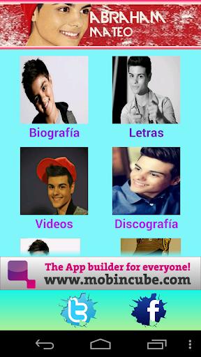 Abraham Mateo Fan App
