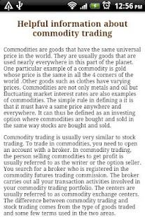 Commodity Trading. - screenshot thumbnail