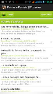 Pastas e Pasteis @ Cozinhux - screenshot thumbnail