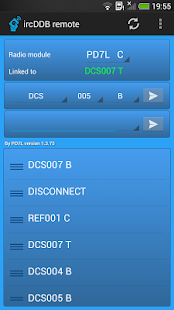 ircDDB remote- screenshot thumbnail
