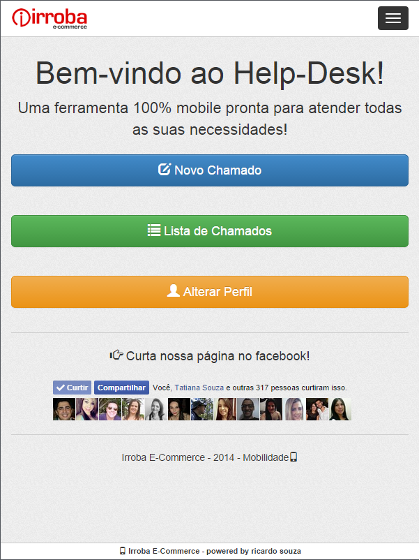 Help-Desk - Irroba E-commerce- screenshot