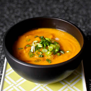 Carrot Soup with Miso and Sesame.