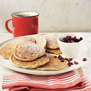 Oatmeal-Cranberry Pancakes.