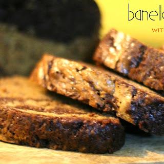 Banella Bread with Cream Cheese Swirl