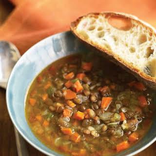 15-Minute Lentil Soup.