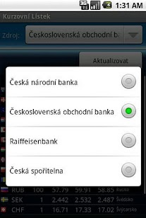 Currency Exchange Rates Screenshot 2