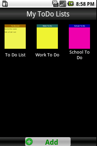 To Do List Lite - screenshot