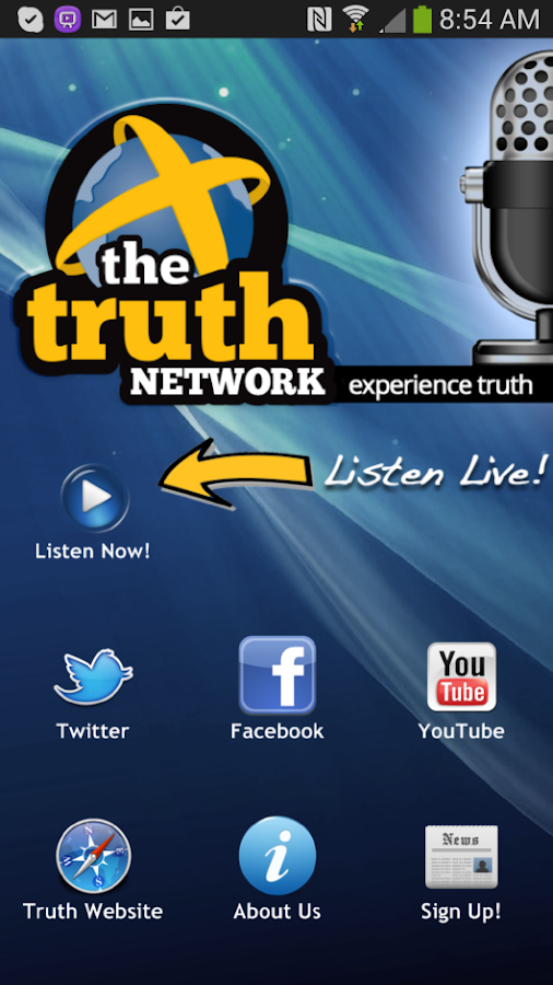 Truth Network Radio - screenshot