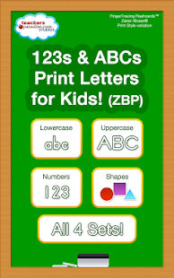 123s ABCs Kids Handwriting ZBP Screenshot 8