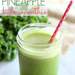 Pineapple Kale Smoothie.