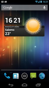 Meteo Widget screenshot 0