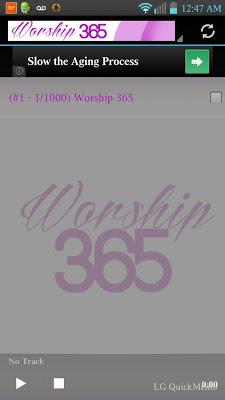 Worship 365 - screenshot