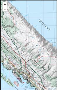 Tải Game Rab biking & trekking map