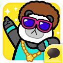 DISCO PANDA for Kakao mobile app icon