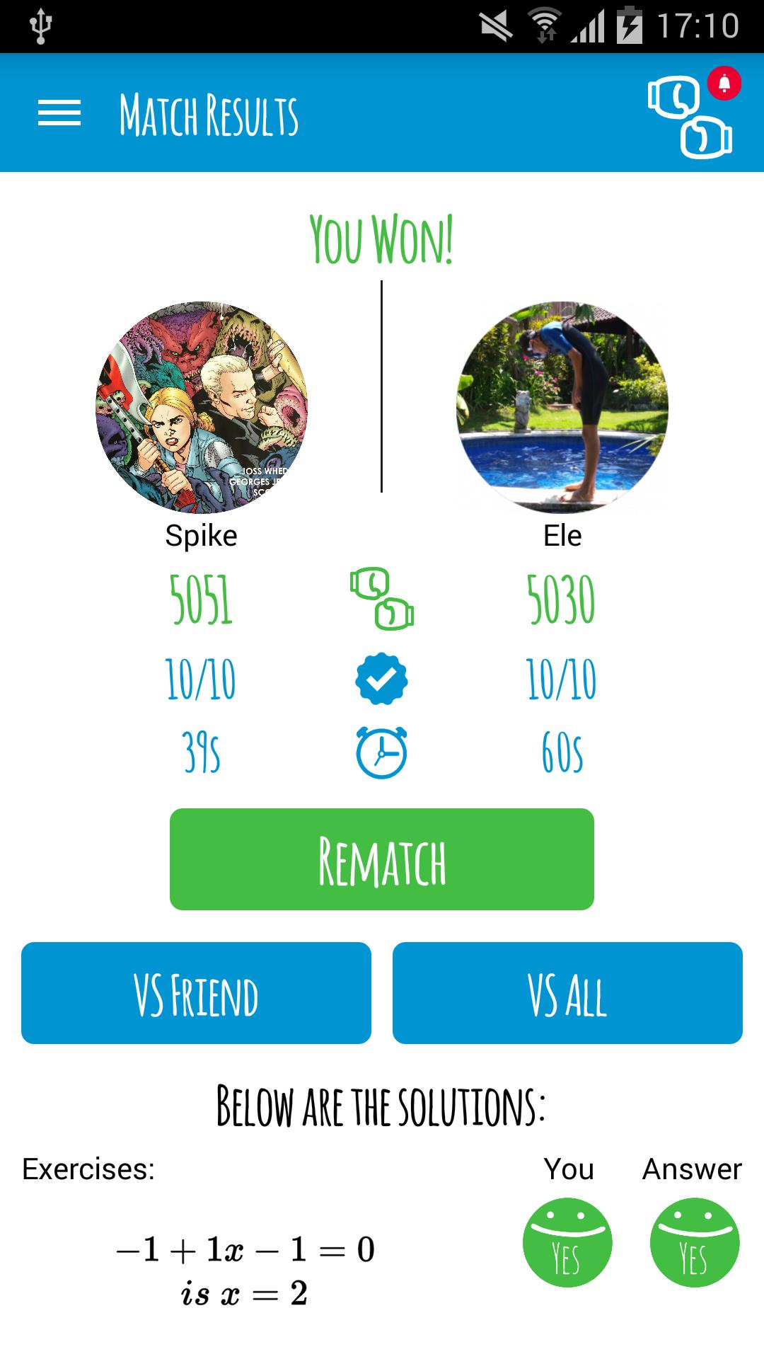 Maths Match screenshot #7